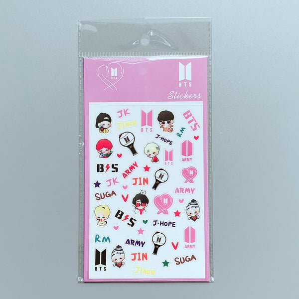 BTS X DIY STICKERS - BT21 Store | BTS Online Shop