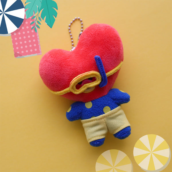 BT21 X Summer doll keychain - BT21 Store | BTS Online Shop