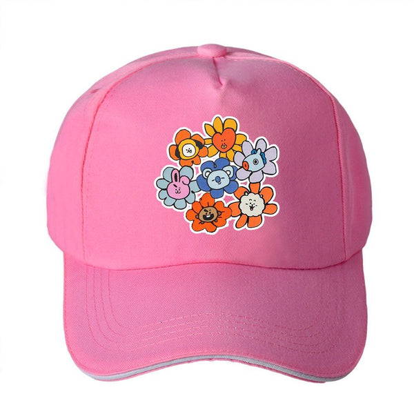 BT21 Flower Cap - BT21 Store | BTS Online Shop