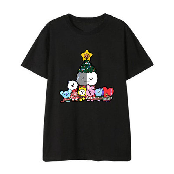 BT21 X NEW 2020 T-SHIRT - BT21 Store | BTS Online Shop