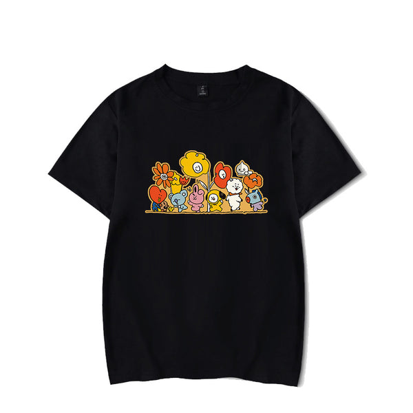 BT21 Flower T-shirt - BT21 Store | BTS Online Shop