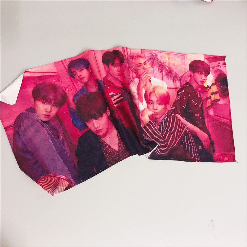 BTS X MAP OF THE SHE SOUL FACE TOWEL - BT21 Store | BTS Online Shop