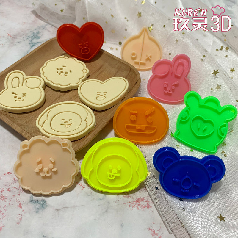 BT21 Cookie Cutters - BT21 Store | BTS Online Shop