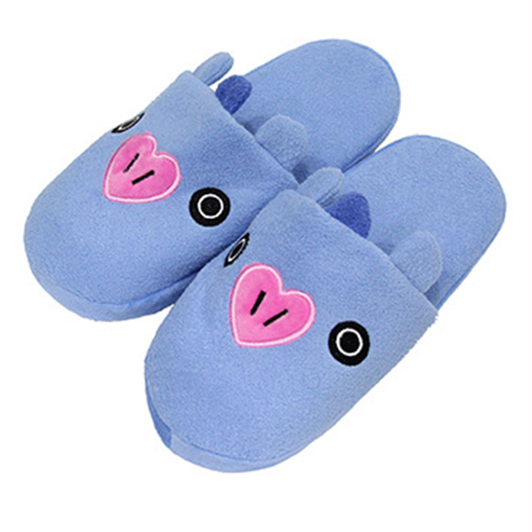 BT21 X Plush slippers - BT21 Store | BTS Online Shop