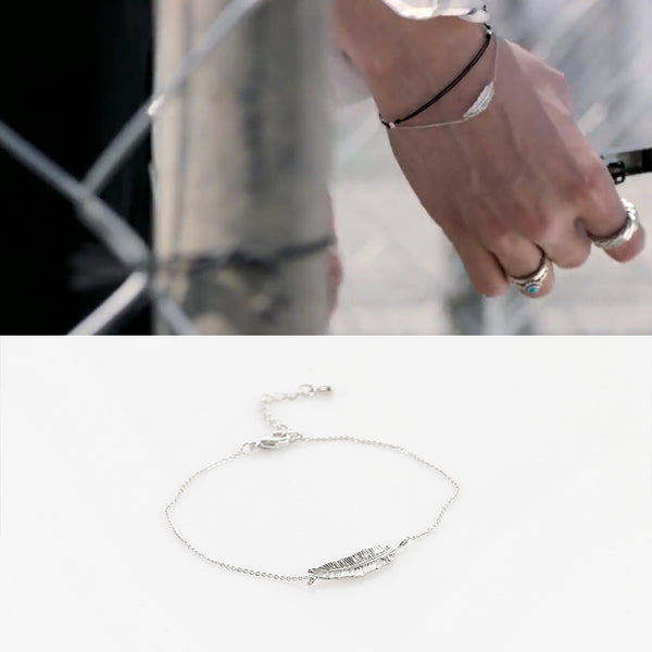 BTS X Feather bracelet - BT21 Store | BTS Online Shop