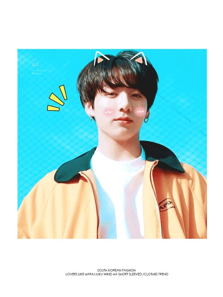 BTS Jungkook Yellow Jacket - BT21 Store | BTS Shop