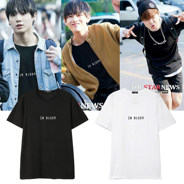BTS In Bloom Members T-Shirt - BT21 Store | BTS Online Shop