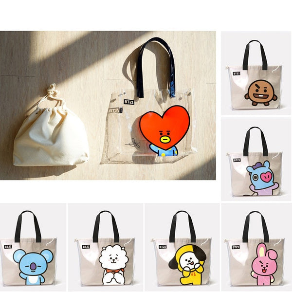 BT21 X Tote Bag - BT21 Store | BTS Online Shop
