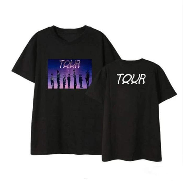 BTS 2020 'TOUR' T-shirt - BT21 Store | BTS Online Shop