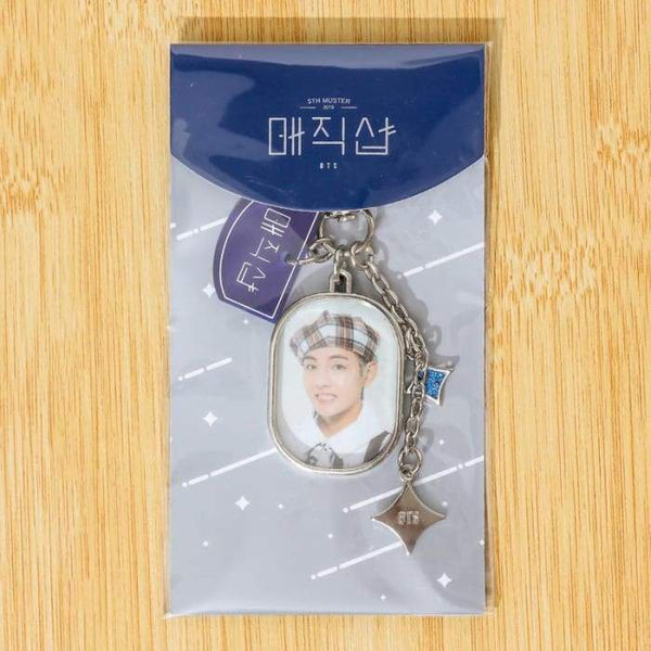 BTS 5th Muster Magic Shop Keyring - BT21 Store | BTS Shop