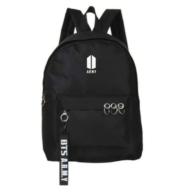 BTS A.R.M.Y Army Logo Backpack - BT21 Store | BTS Online Shop