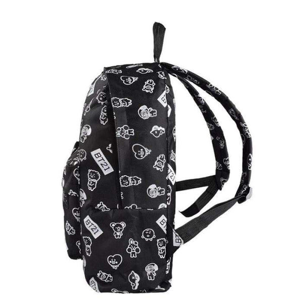 BTS A.R.M.Y BT21 Theme Backpack - BT21 Store | BTS Online Shop