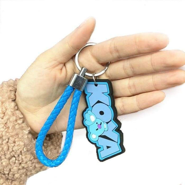 BT21 Cartoon Pendant Keyring - BT21 Store | BTS Shop