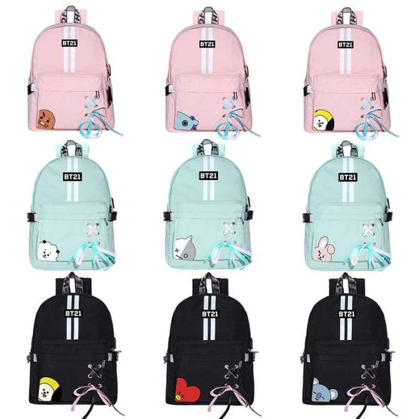 BTS BT21 Concept Character Backpack - BT21 Store | BTS Online Shop