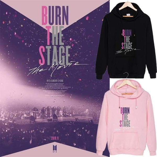 BTS Burn The Stage The Movie Classic Hoodie - BT21 Store | BTS Online Shop