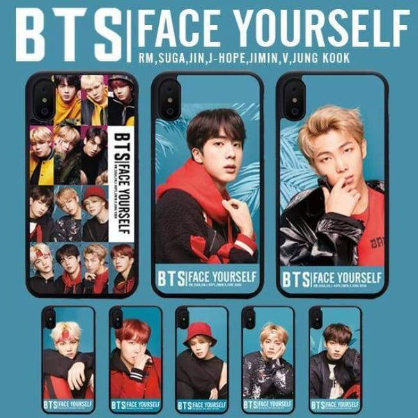 BTS Face Yourself Phone Case (iPhone) - BT21 Store | BTS Online Shop
