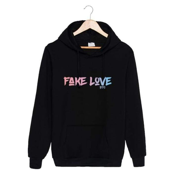 BTS Fake Love Classic Hoodie - BT21 Store | BTS Shop