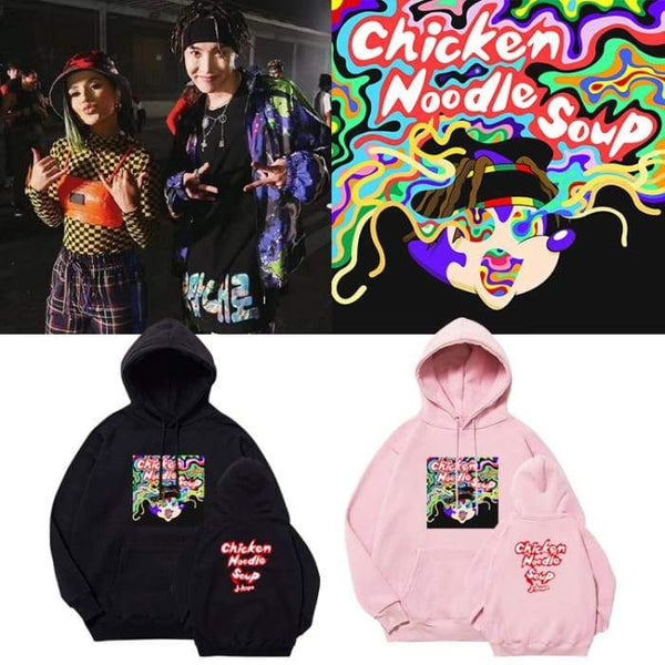 BTS J-Hope Chicken Noodle Soup Hoodie - BT21 Store | BTS Online Shop