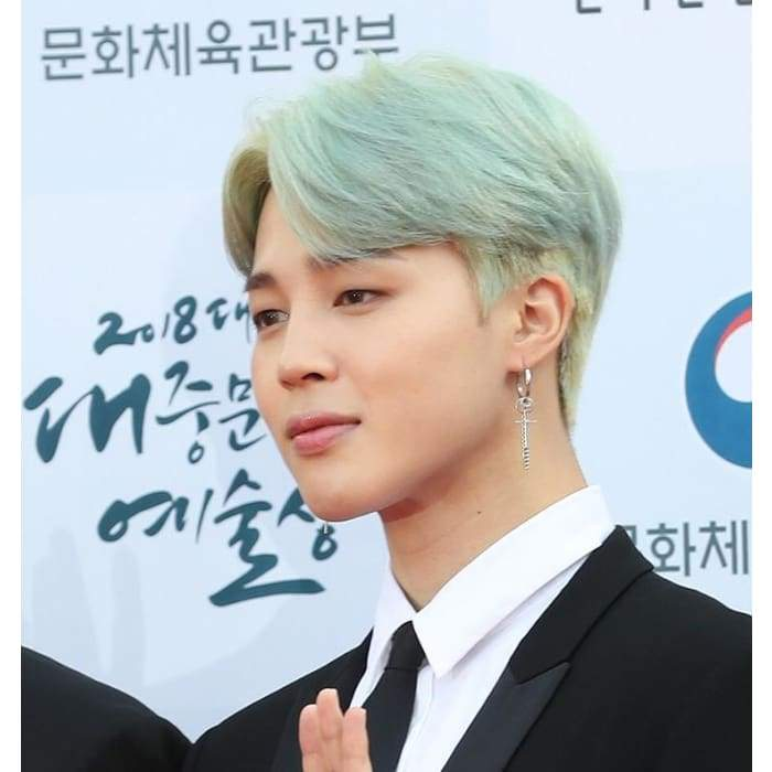 BTS Jimin AGT 2018 Fashion Earring - BT21 Store | BTS Online Shop