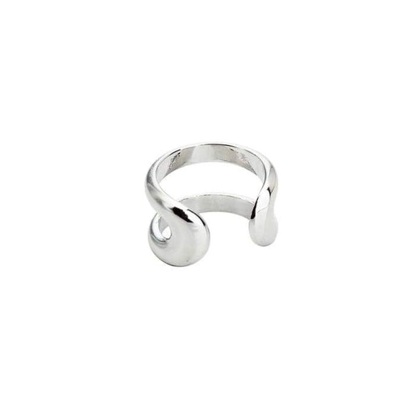 BTS Jimin White Gold Double Band Fashion Ring - BT21 Store | BTS Shop