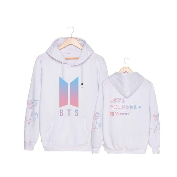 BTS Love Yourself Answer Classic Hoodie - BT21 Store | BTS Online Shop