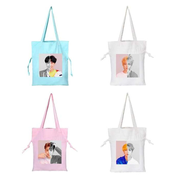 BTS Love Yourself Answer 'L' Canvas Bag - BT21 Store | BTS Online Shop