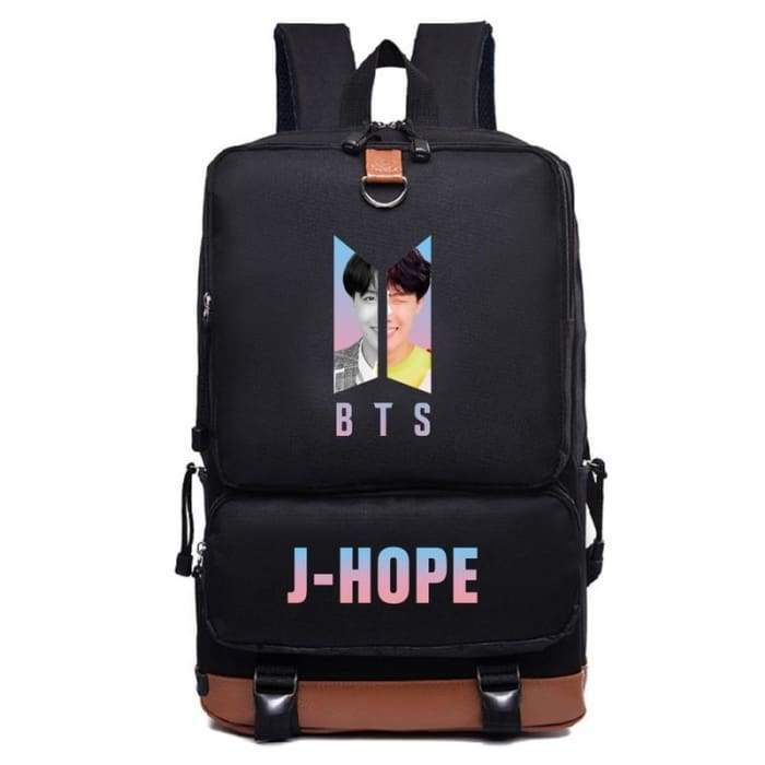 BTS Love Yourself Answer Members Backpack - BT21 Store | BTS Online Shop
