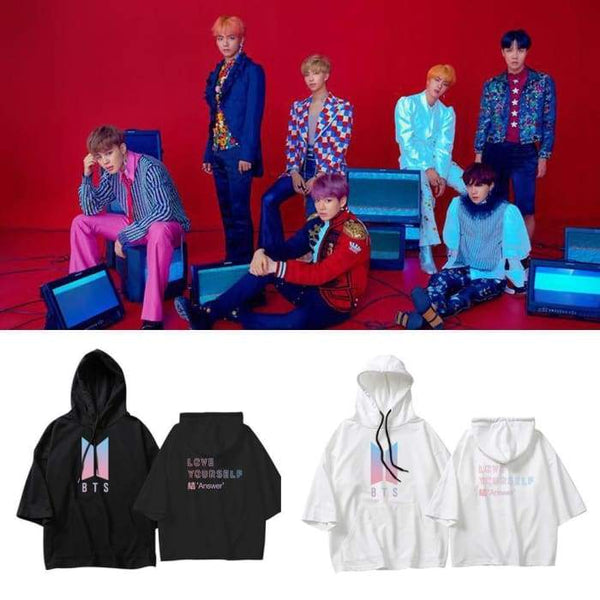 BTS Love Yourself Answer Spring Hoodie - BT21 Store | BTS Online Shop