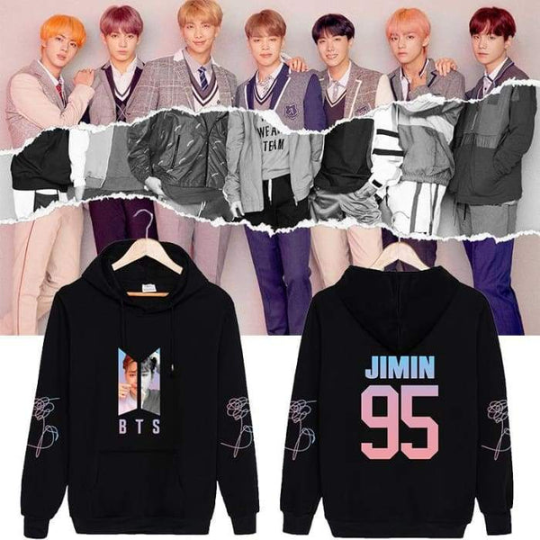 BTS Love Yourself Member Answer 'L' Classic Hoodie - BT21 Store | BTS Shop