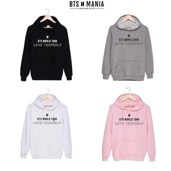 BTS Love Yourself World Tour 2018 Classic Hoodie - BT21 Store | BTS Shop