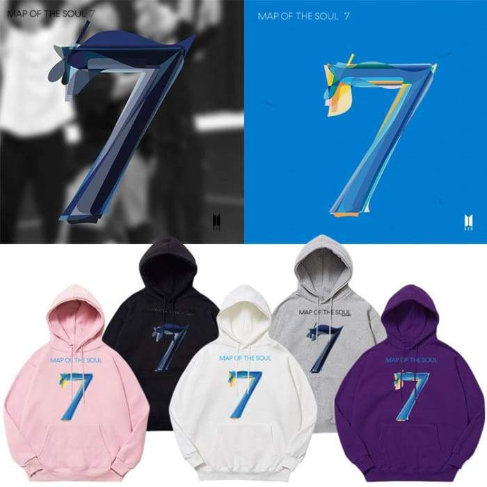 Bts Map Of The Soul 7hoodie Map Of The Soul 7 Merch Bts