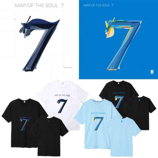 BTS Map Of The Soul: 7 Official Album T-shirt - BT21 Store | BTS Shop