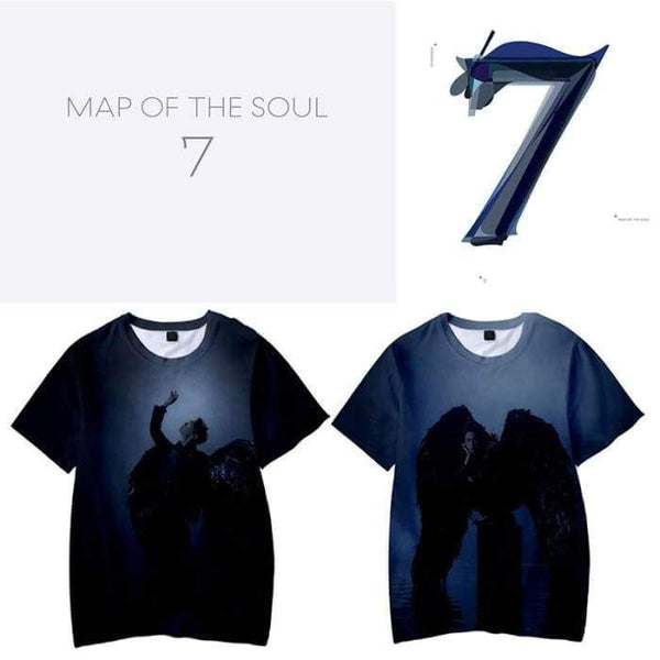 BTS X Map Of The Soul: 7 3D T-shirt - BT21 Store | BTS Online Shop
