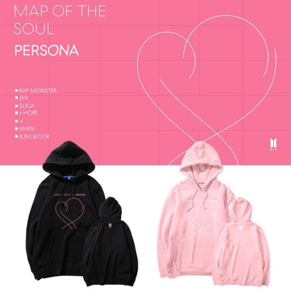 BTS Map Of The Soul Persona Hoodie - BT21 Store | BTS Shop