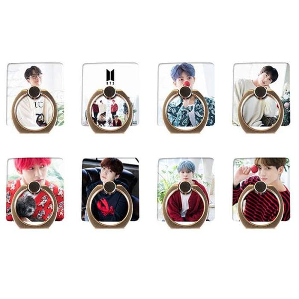 BTS Member Christmas Concept Phone Ring - BT21 Store | BTS Online Shop
