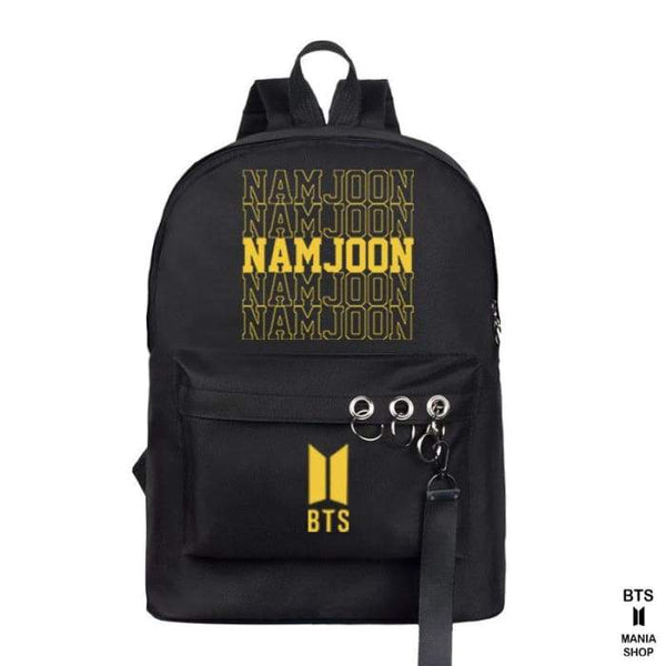 BTS Member Name Backpack - BT21 Store | BTS Online Shop