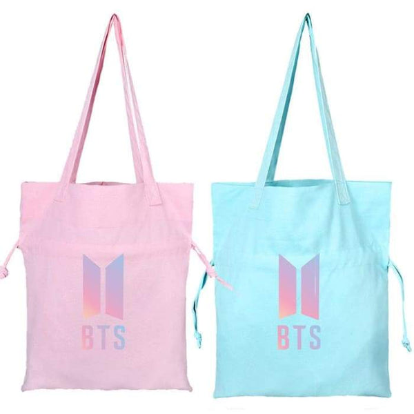 BTS Official Logo Canvas Bag - BT21 Store | BTS Online Shop