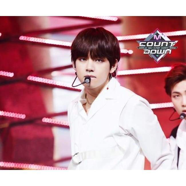 BTS Taehyung Mnet Mcountdown Fashion Earring - BT21 Store | BTS Online Shop