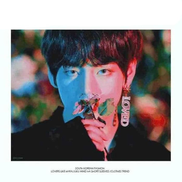 BTS Taehyung Singularity Fashion LOVED Earring - BT21 Store | BTS Online Shop
