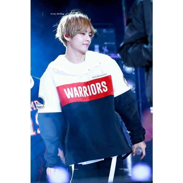 BTS V Fashion GS Warrior Hoodie - BT21 Store | BTS Online Shop
