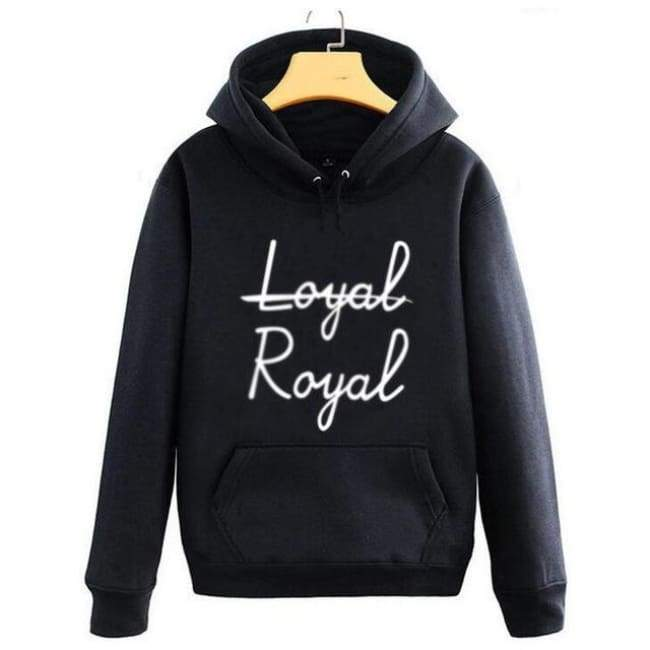 BTS V Loyal Royal Hoodie - BT21 Store | BTS Online Shop