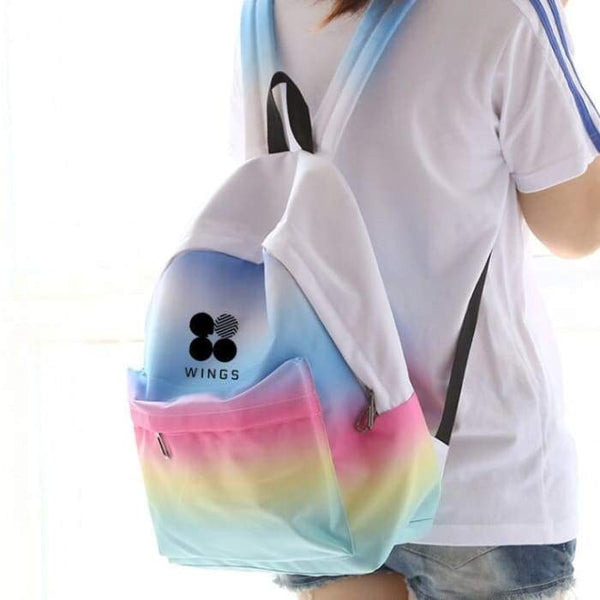 BTS Wings Gradient backpack - BT21 Store | BTS Online Shop