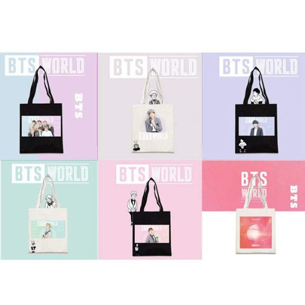 BTS World Canvas Shoulder Bag - BT21 Store | BTS Online Shop