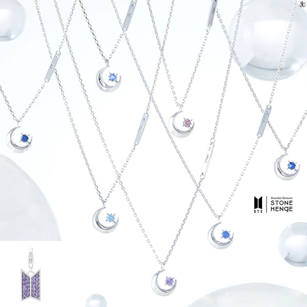 BTS X STONEHENGE MOMENT OF LIGHT COEXIST NECKLACE - BT21 Store | BTS Online Shop