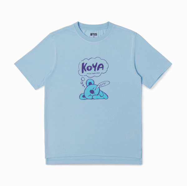 BT21 X KOYA T-Shirt - BT21 Store | BTS Online Shop