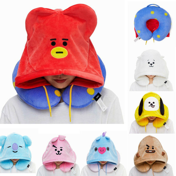 BT21 X  Hoodie Neck Pillow - BT21 Store | BTS Online Shop