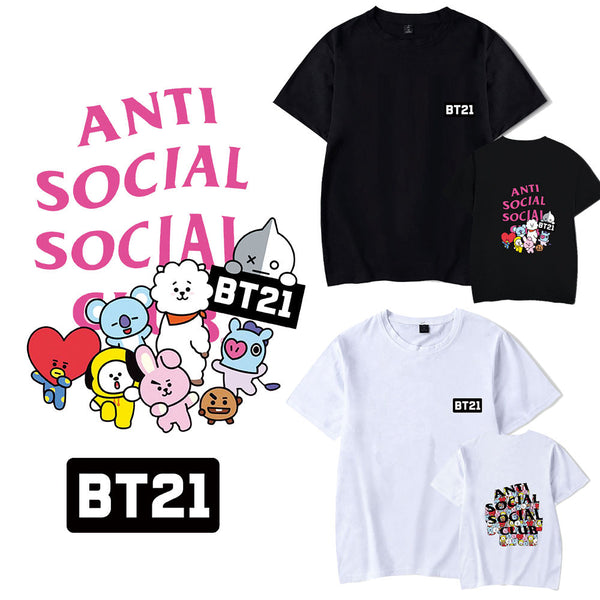 BT21 X ASSC Short Sleeve T-shirt - BT21 Store | BTS Online Shop