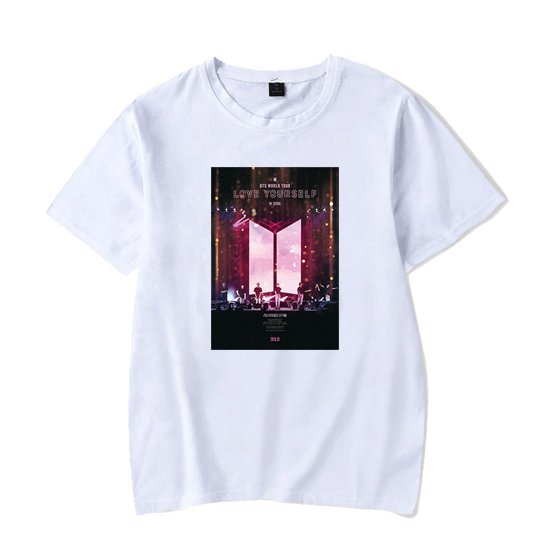 BTS World Tour Love Yourself In Seoul T-shirt - BT21 Store | BTS Shop