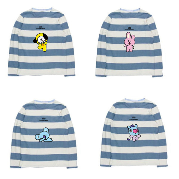BTS X Crew Neck Sweater - BT21 Store | BTS Shop