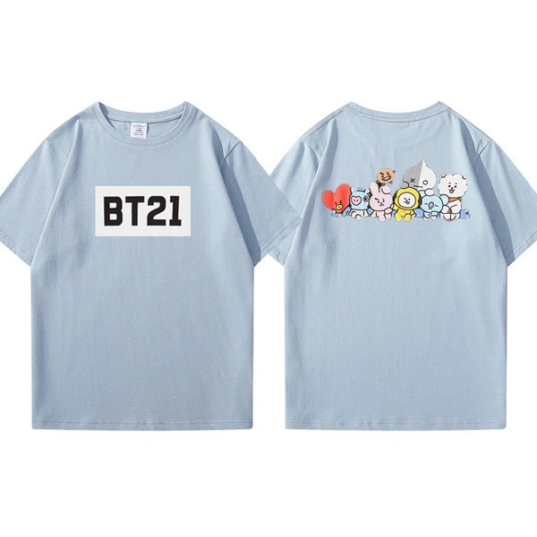 BT21 X Short Sleeve T-shirt - BT21 Store | BTS Shop
